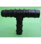 20x20x16  mm Kurt Ağızlı T Boru Ek Parçası