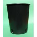 Katı Ortam Akan Su Kültüründe 125 mm Borularda Kullanılan Yuvarlak Saksı
