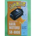Orjinal Quick 8808 Hava Motoru